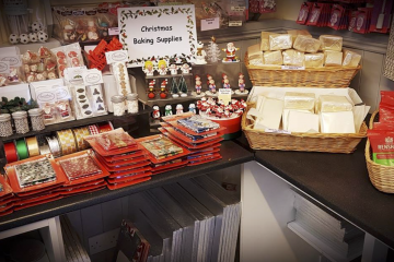 Range of Christmas Baking Supplies